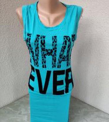 Moderna majica,tunika,haljina sa zanimljivim plisanim printom - Pozarevac