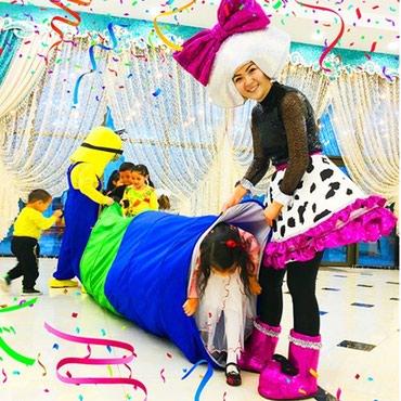 шоколадный фонтан в Кыргызстан: Детское шоу в Бишкеке! Аниматоры, пузыри, шоколадный фонтан, пиньяты
