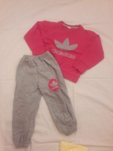Dečije Farmerke i Pantalone   Tutin: Adidas trenerka malo koriscena za devijcice od 24 meseca pa nadalje za