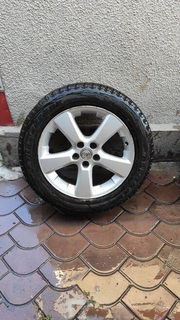 Продаю комплект дисков с зимней резиной на Lexus RX 330 оригинал
