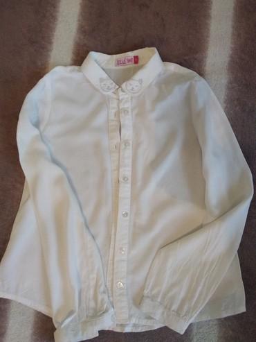 Школьные блузки - Кыргызстан: Блузка 7-8 лет . цена 250 сом