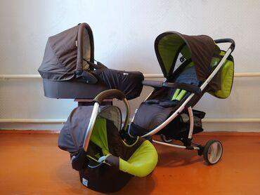Коляски в Беловодское: Срочно продаю немецкую коляску 3 в 1 фирмы hauck ( б/у). Состояние