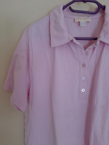 Fair Lady roze polo majica. Vel XL. Odličnog materijala