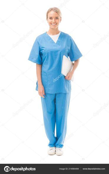 медицинский халат бишкек in Кыргызстан   СПЕЦОДЕЖДА: Клиника   Медсестра   Внутривенные капельницы