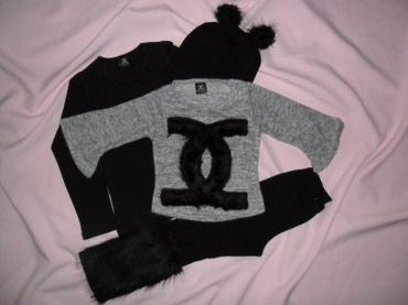 Chanel komplet bluzica,helanke,džemperić i kapa, dostupne veličine 3/4 - Paracin - slika 2