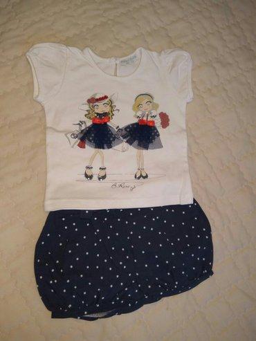 Костюмчики и платья на девочку от3 в Бишкек