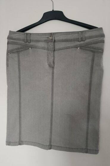 Ženska odeća   Nis: C&A nova teksas suknja sa elastinom. Veličina 40