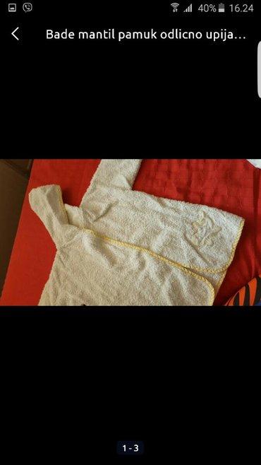Ostala dečija odeća | Pozarevac: Bade mantil za decu Bez ostecenja Za dete do 5 god