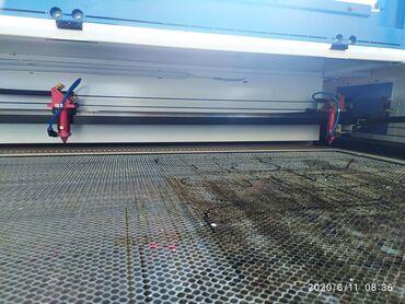 оборудование в Кыргызстан: Продается лазерная резка. Размер 1000*1600.2 режущие головы.мощность
