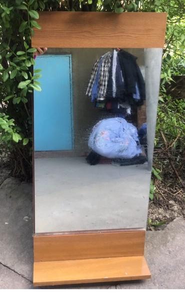 Новое Зеркало,сост.отл,есть крючки сзади чтоб повесить,высота где то 1