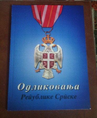Značke, ordeni i medalje | Srbija: Odlikovanja Republike Srpske - nova knjiga