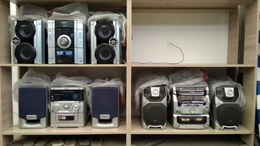 Продаю муз центры аукс подкл. телефон телевизор и т. д. в Бишкек