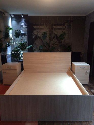 Кровать новая, металический каркас с в Бишкек