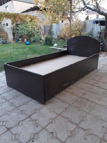 КроватьПродаю Новую односпальную кроватьС ящиками Цвет