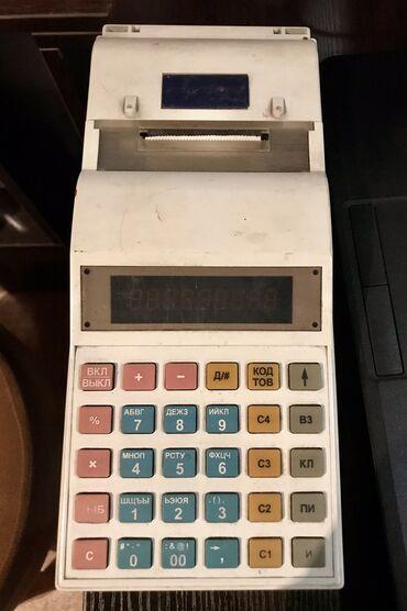 Кассовый аппарат Ока ПФ -KZ, б/у снятый с учета в налоговой, со всем