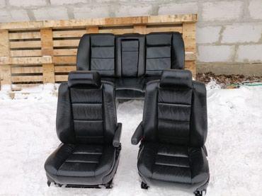 Продаю кожаный салон на бмв е34 электро в Бишкек