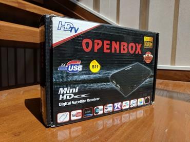 ТВ и видео в Кыргызстан: Спутниковый HDTV ресивер Openbox S11 Mini HD с выносным индикационным