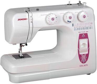 Швейная машина janome v-25 escapeхарактеристики, тип управления
