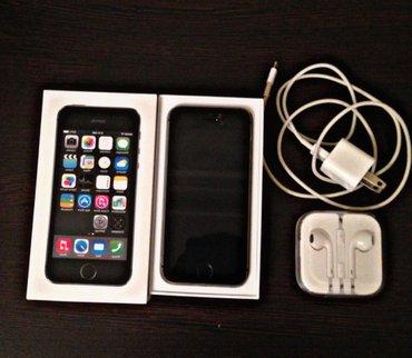 Bakı şəhərində Iphone 5s- space grey 16 gb yaddash. Tel ideal veziyyetdedi. Xanim