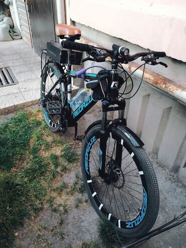 Спорт и хобби - Чон-Таш: Срочно ! Велосипед Red_azuz 26 колеса алюминий