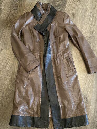 Очень качественный кожаный плащ, кожа мягкая  Производство: Турция  Ф