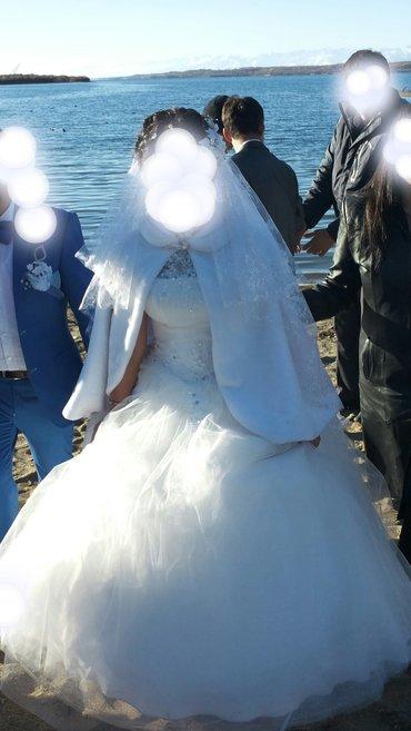 Г. Каракол Продаю свадебное платье совсем новое. одевала 1 раз