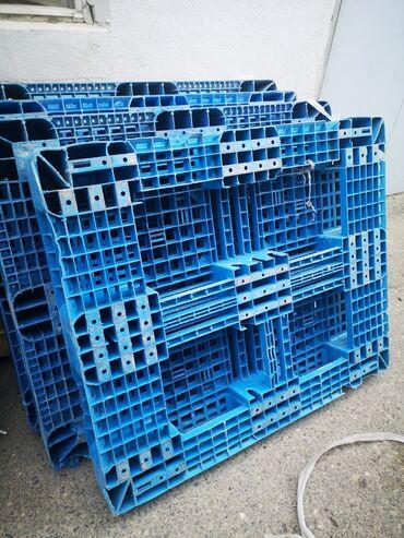Plastmas paletler 1.20 x 1 metre tam sağlam veziyetde
