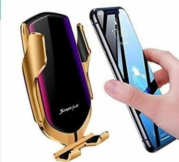 Eksterne baterije | Kikinda: Bežični punjač i auto držač za mobilni telefon - S 5Bežični punjač za