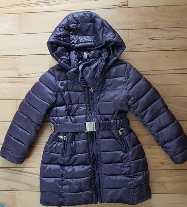 Farmericecine teksas - Srbija: IDEXE - zimska jakna za devojcice sa kapuljacom, vel 5/6, bukvalno