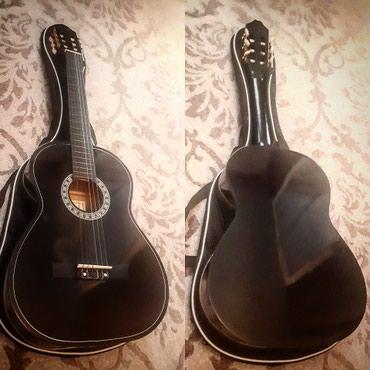 Xaçmaz şəhərində Almira firmasının 2ci əl amma yeni kimi klassik gitarası çantası