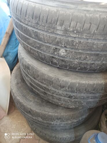 диски камри в Кыргызстан: Продаю диски R15 вместе с шинами, стояли на Тойоте Камри, оригинал