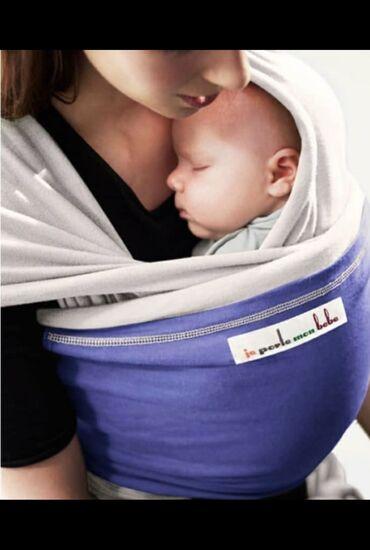 слинги эргорюкзаки в Кыргызстан: Слинг-шарф JPMBB - подходит для ношения с рождения до 14 кг., идеален