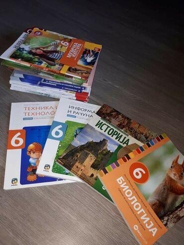 Sport i hobi | Kraljevo: Komplet udžbenika za sesti razred, kupljeni prosle godine, novi