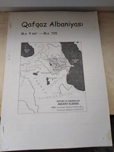kserekopiya - Azərbaycan: Qafqaz Albaniyası - kserekopiya kitab.Albaniya hakkında toplanmış