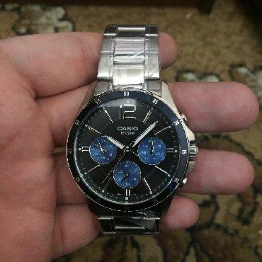 часы дешок в Кыргызстан: Белые Мужские Наручные часы Casio