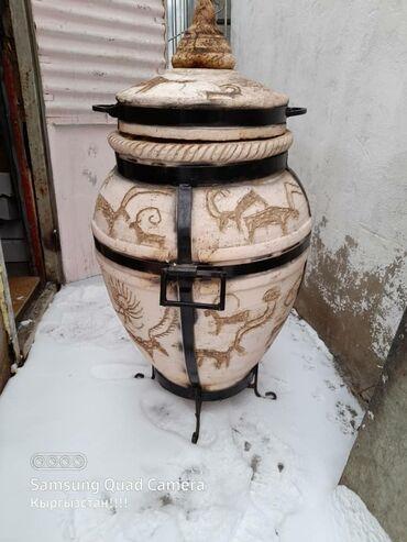 гриль в Кыргызстан: Тандыр. Саймалуу таш.можно приготовить куры гриль. Разные мясо. Можно