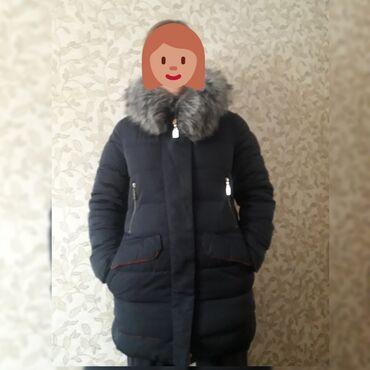 жен куртка в Кыргызстан: Женская куртка размер S-M. Мех отстегивается . Состояние хорошее