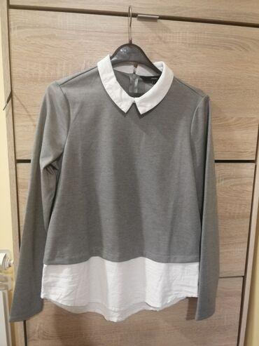 Poslovno elegantni komlet - Srbija: Bluza košulja kao nova, veličina M, Vero moda, nošena par pita, kao