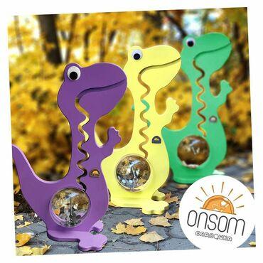 финал лиги чемпионов в Кыргызстан: Подарок на новый год ребенку! Уникальная игрушка копилка-динозаврик