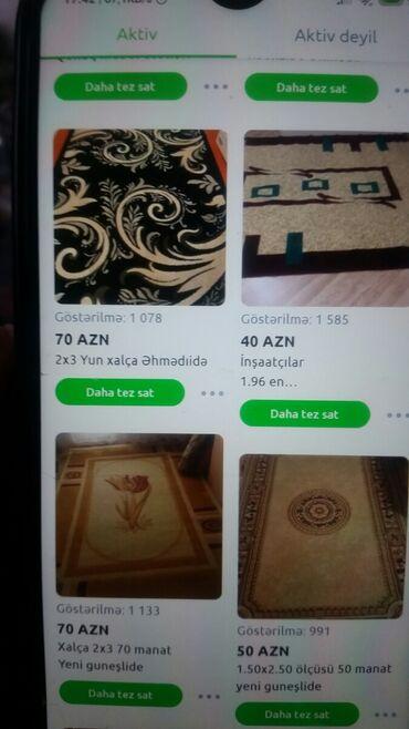 xalcalar ve qiymetleri в Азербайджан: Növ be növ xalcalar