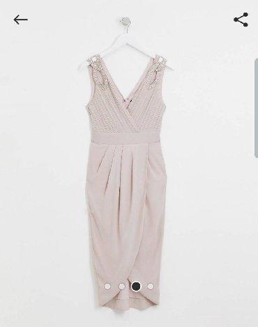 льняные вязаные платья в Кыргызстан: Продаётся новое платье!Размер 48 🛍Платье заказывала на сайте asos(док