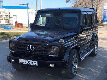 черный mercedes benz в Кыргызстан: Mercedes-Benz G-Class 2005