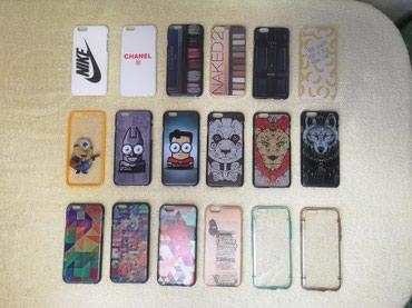 Чехлы на iPhone 5(S), 6(S), 6(S)plus, 7, 7plus оптом в Бишкек