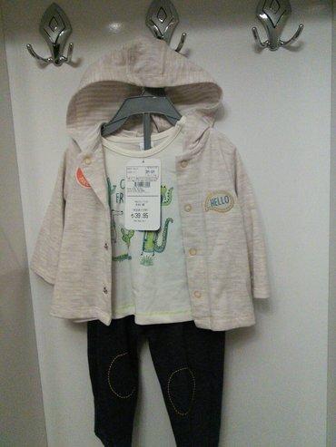 Xırdalan şəhərində Новый 100%COOTON  детский костюм на 3/6месяцев тройка хороший подарок
