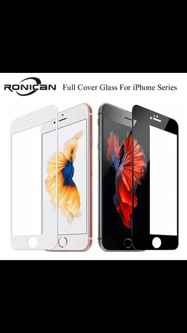 Zastitno 5D staklo iphone 6 / 6s Pokriva ekran od ivice do