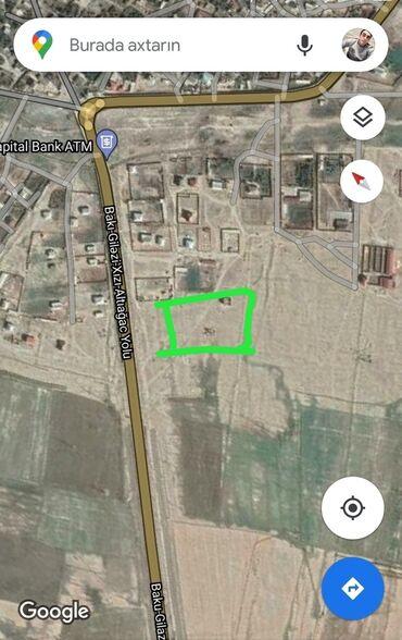 hektarla torpaq satilir - Azərbaycan: 24 sot, Biznes üçün, Kupça (Çıxarış)