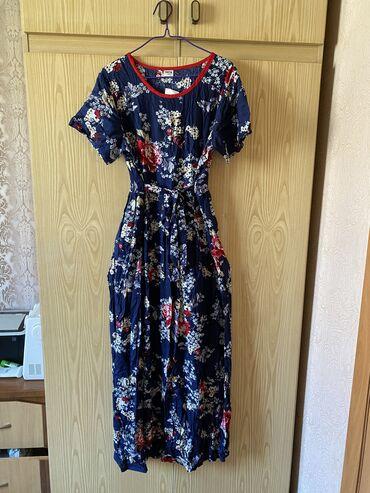 фасон узбекских платьев в Кыргызстан: Красивое летнее платье:) Абсолютно новое. Очень легкое и дышащее. Сдел