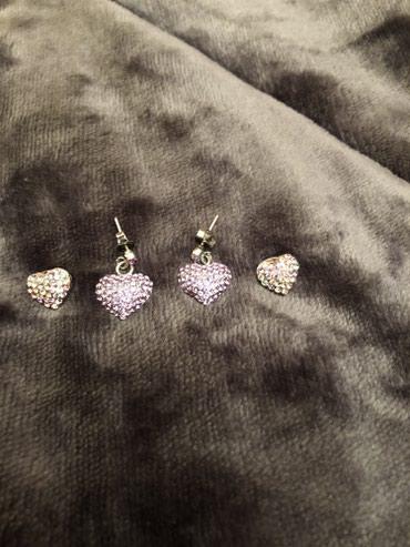 2 ζευγαρια σκουλαρικια με καρδιες !!! Σουπερ τιμη !!! Προλαβε τωρα  σε Βόρεια & Ανατολικά Προάστια