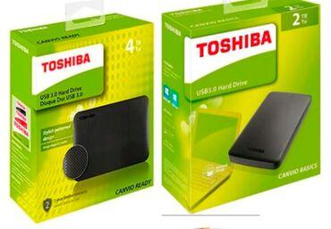 hdd 2tb в Кыргызстан: Внешние жесткие диски Toshiba. Extarnal HDD 2TB/4TB.2TB HDD Toshiba