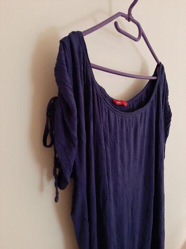 Bluza sa rukav - Srbija: Esprit tunika majica bluzica. Vel M. Ljubicasta sa podesivim rukavima